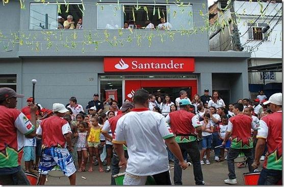banco santander favela alemão