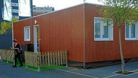 Ante las crisis transforman contenedores en viviendas el - Contenedores para vivir ...