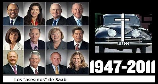 """""""Vosotros habéis asesinado a Saab"""""""
