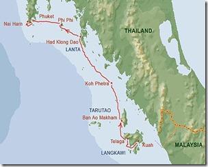 langkawi-phuket_route