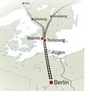 tren alta velocidad oslo berlín