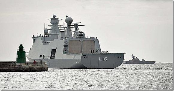 Dinamarca liberó 14 rehenes de los piratas