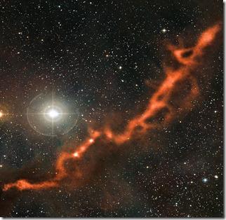 Telescopio VLT en Chile descubre cómo 'nacen' las estrellas
