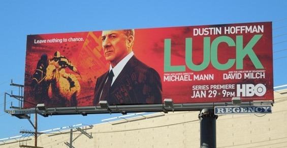 Luck HBO billboard