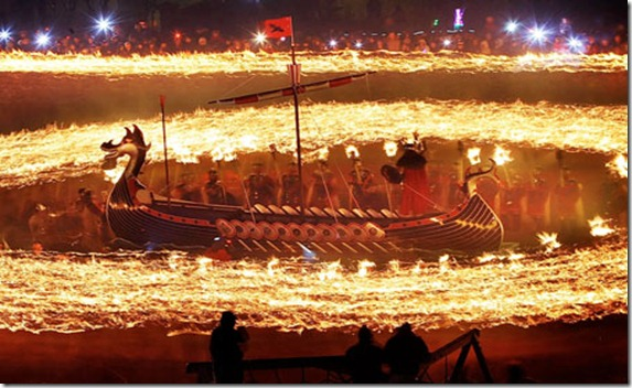 APTOPIX Britain Viking Festival