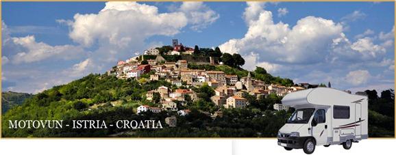 MOTOVUN (Croacia):  1.ª área de pernocta