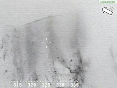 vrakdelar på Rabots glaciär efter Herculesplanet.1