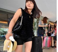 China será la mayor fuente de turistas que viajan al extranjero en 2012