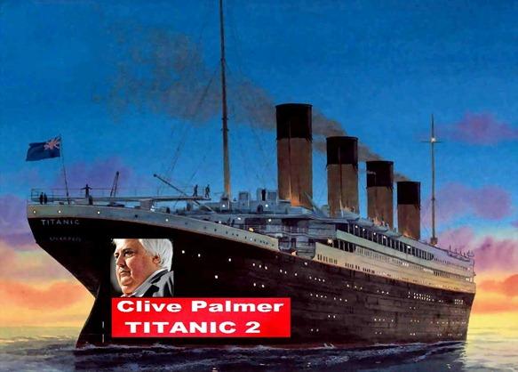Clive Palmer construirá réplica del Titanic