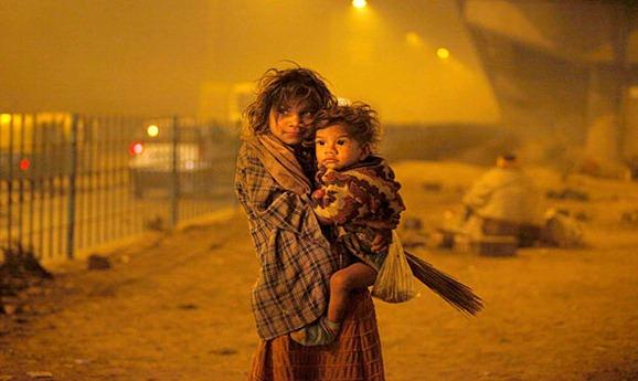 delhi sin techo