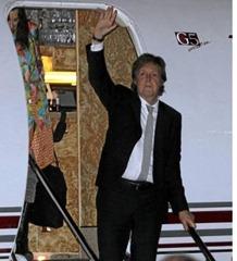 Todo listo para el 'show' de Paul McCartney en Colombia