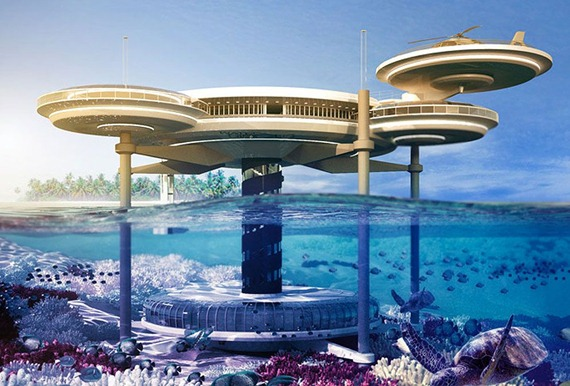 """The water Discus Hotel"","