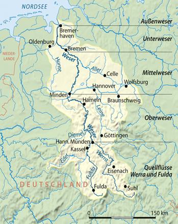 Weser_Einzugsgebiet