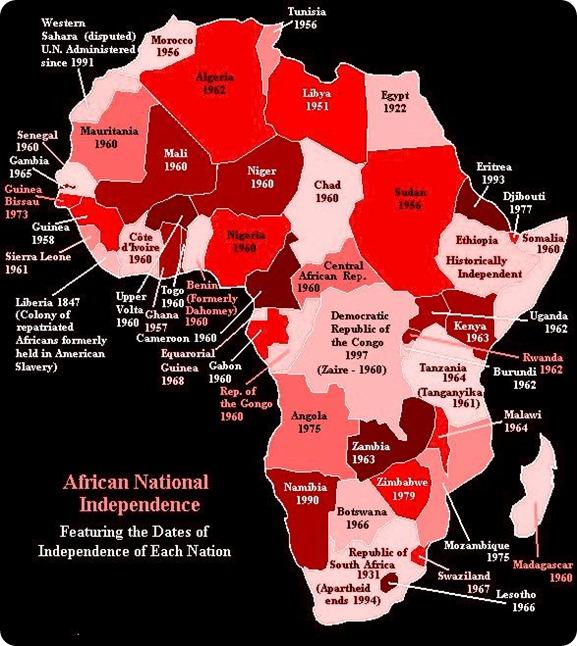 Africa Independencia-