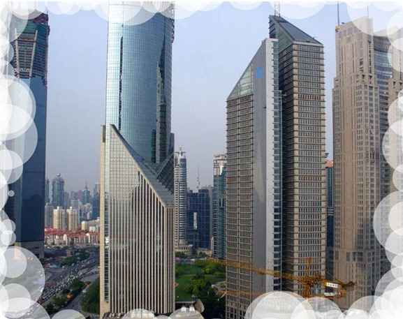 Shanghai rascacielos