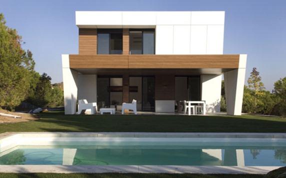 C mo construir una vivienda de lujo de 160 m en solo 10 for Viviendas lujo madrid