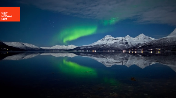 La mejor aurora boreal en 50 años