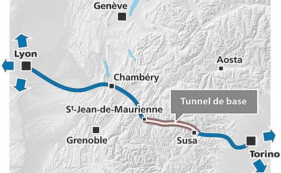 Francia e Italia firman acuerdo sobre línea de alta velocidad Lyon-Turín