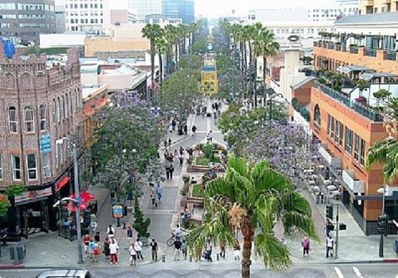 Santa Monica's  Third Street Promenade