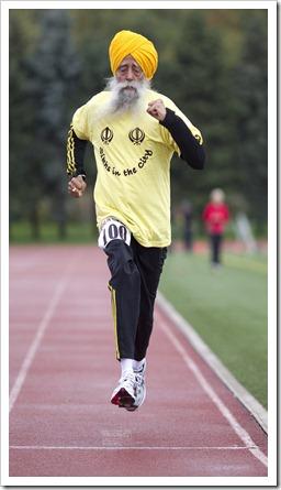 Centenarian Runner