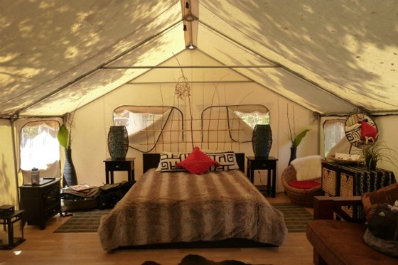 Interior-Glamor-Tent-at-Ventura-Ranch-KOA-Campground-Jennifer-Miner