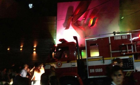 boate Kiss de Santa Maria - incendio