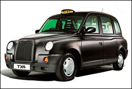 London Black Cab Taxi