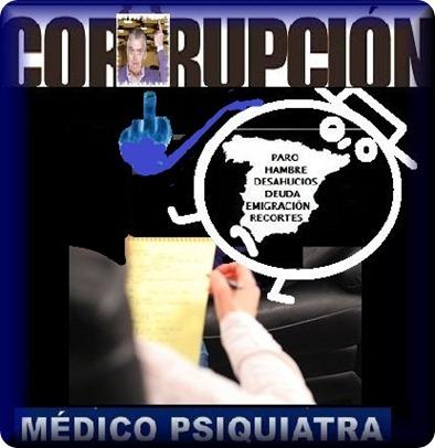 España necesita decenas de psiquiatras para políticos corruptos