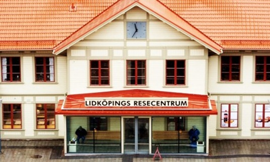 Resecentrum i Lidköping.