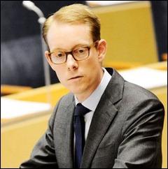 Tobias Billström ministro racista