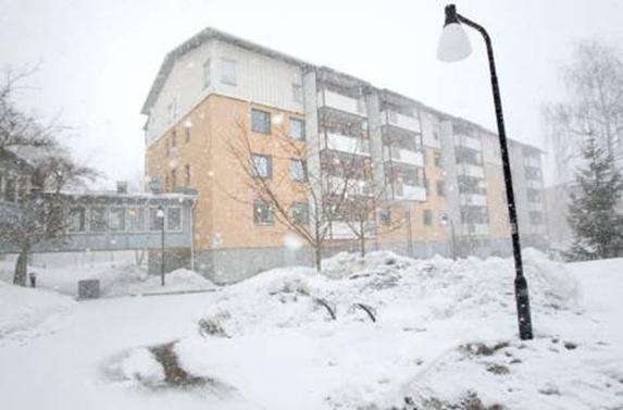 bloque viviendas en Gävle