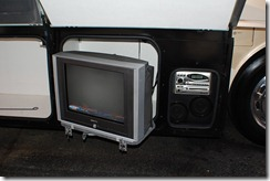 am - fm-cd stereo outside and 19 color tv
