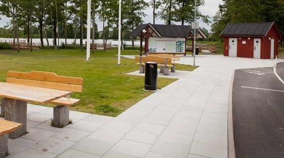 Anilla rastplats utanför Broby är bäst i Skåne. Foto Jörgen Johansson
