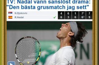 Nadal-Djokovic/Roland Garros 2013: El mejor partido sobre arcilla de todos los tiempos