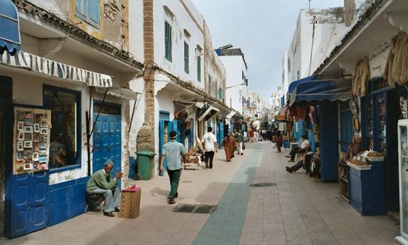 Essaouira-casco viejo
