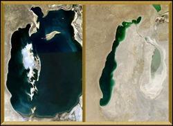 SPACE-ENVIRONMENT-ARAL SEA