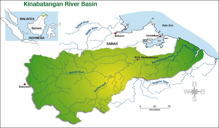 kinabatangan_river_basin