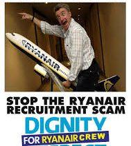 2700 coronas – por solicitar un trabajo en Ryanair