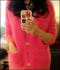 Angora_Rabbit_Women_Cardigan_Sweater