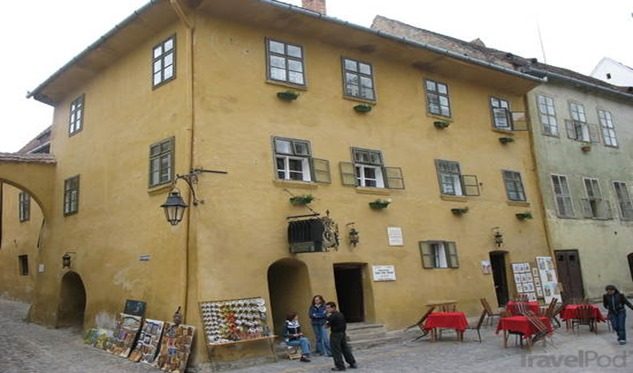 Draculas-birthplace-Sighisoara