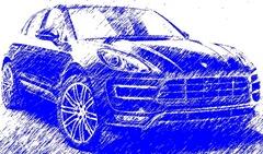 Porsche Macan Turbo (2014)-