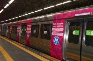 São Paulo considera implantar vagones especiales de color rosa para mujeres en el Metro