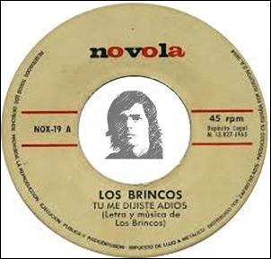 LOS BRINCOS - TÚ ME DIJISTE ADIÓS