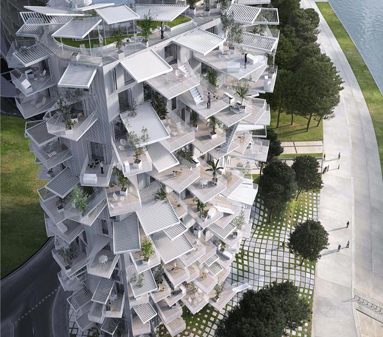 Arquitecto Sou Fujimoto - Montpellier - Nicolas Laisné Associates - Manal_Rachdi_Oxo Architects