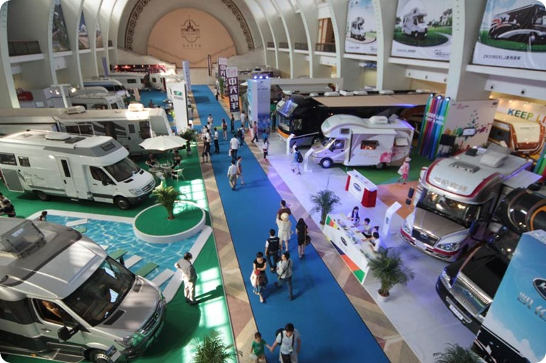 All in CARAVANING 2014 - caravans and camping equipment - Beijing  June 27-29, 2014