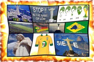 Brasil es ridiculizado en la red después del colapso