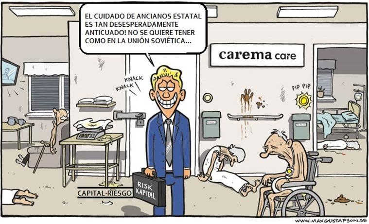 CAREMA CARE - Skämtteckning70