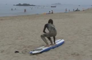 Corea del Norte apuesta por el surf para potenciar su turismo