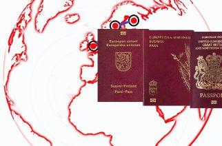 """Los pasaportes más """"poderosos"""""""