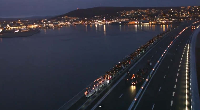procesión_Lucía_en_Sundsvall